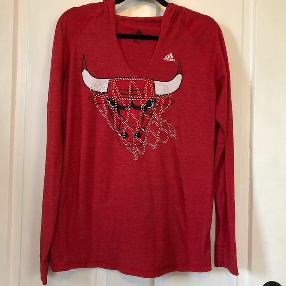 adidas Tops - Adidas Chicago Bulls Shirt